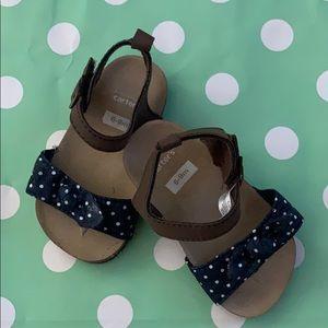 Carter's baby girl sandals